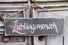 "Schablone ""Lieblingsmensch"""