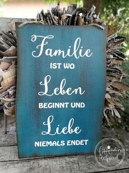 Familie ist... 1