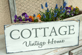 "Schablone ""Cottage Vintage Home"""
