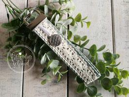 "Schlüsselanhänger ""Blume des Lebens"" grün"