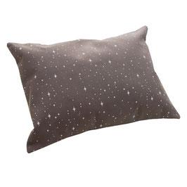 HOUSSE DE COUSSIN 30 x 40 cm étoiles blanches