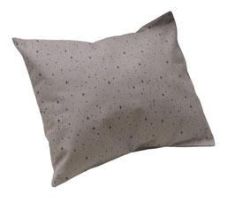 HOUSSE DE COUSSIN 45 x 40 cm étoiles noires
