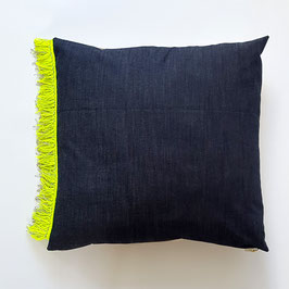 COUSSIN 70 X 70 CM denim/ CUSHION 70 X 70 CM  denim