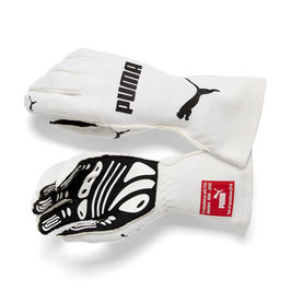 Puma Racing Wear Rennhandschuhe Handschuhe Gloves (weiß) SLW GT7 FIA GLOVES 311991003