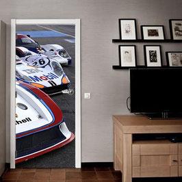 Tür Sticker Doorwrap Porsche Racing