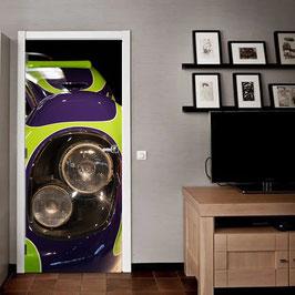 Tür Sticker Doorwrap Porsche 917 Hippie