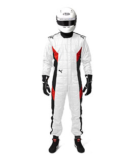 Puma Racing Rennoverall Race Suit (white/ weiß), FIA PODIO RACESUIT, 311991001