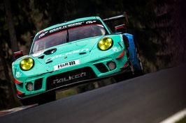 Kunstdruck / Poster Porsche Falken NLS3#105.38