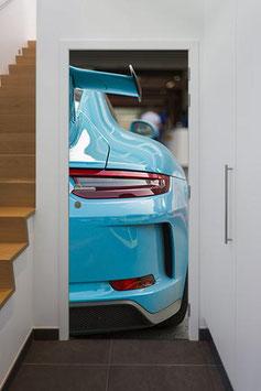 Tür Sticker Doorwrap Porsche 991 GT3 blue