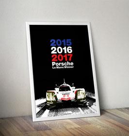 Poster: Le Mans 2017 Winner