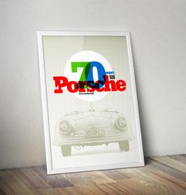 Poster 70 Jahre Porsche