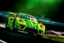 Kunstdruck / Poster Porsche 911 Manthey Grello (60x40cm)