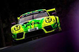 Kunstdruck / Poster Porsche Manthey Grello NLS3#105.35