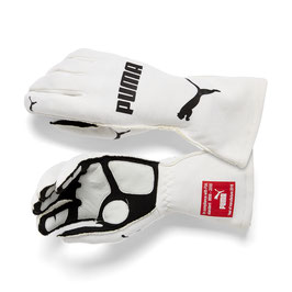 Puma Racing Wear Rennhandschuhe Handschuhe Gloves (weiß) AVANTI FIA GLOVES 311991004