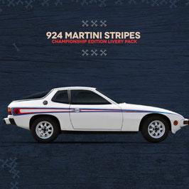 Porsche 924, 944 Martini Seitenstreifen