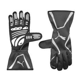 Puma Racing Wear Rennhandschuhe Handschuhe Gloves (schwarz) KART CAT II GLOVES 311991012