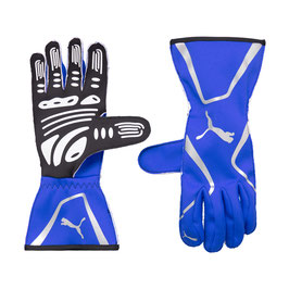 Puma Racing Wear Rennhandschuhe Handschuhe Gloves (blau) KART CAT II GLOVES 311991012