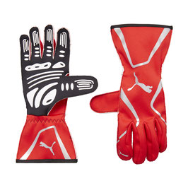 Puma Racing Wear Rennhandschuhe Handschuhe Gloves (rot) KART CAT II GLOVES 311991012