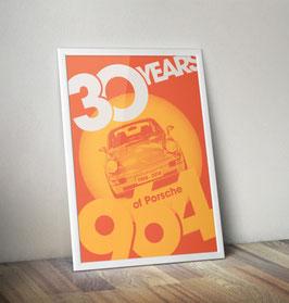 Poster: 30 Years of Porsche 911 964
