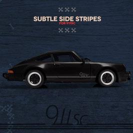 Porsche Subtle SideStripes Set; 2.0, 3.0, 3.3 oder S, T, SC, 912
