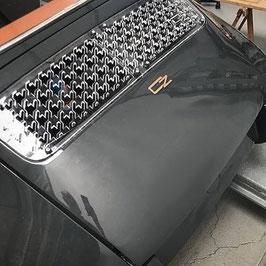 Lufteinlassgitter Porsche 911 Design Dreizack
