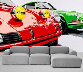 Wallpaper Red Green 911