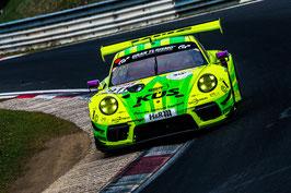 Kunstdruck / Poster Porsche 911 Grello Manthey (60x40cm) #4.9