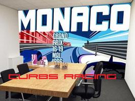 Monaco landscape auf Tapete / Wallpaper