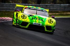 Kunstdruck / Poster Porsche Manthey Grello NLS3#105.17