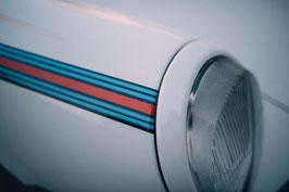 Martini Side Stripes (Seitenstreifen) Set für Porsche 911