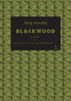 BLACKWOOD for Violin and Guitarorchestra/Ensemble (PDF)