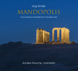 Jürg Kindle MANDOPOLIS (physical CD)