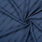 Jersey Ellipsen dunkelblau