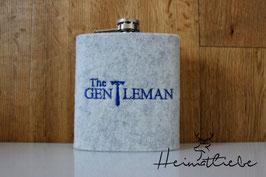 Flachmann Gentleman Krawatte