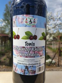 Tonis Schwarzer Knupperkirschwein