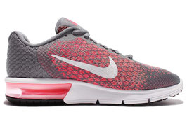 NIKE 852465 WMNS AIR SEQUENT 2 GRIGIO/ROSA