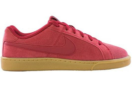 NIKE COURT ROYALE SUEDE ROSSO