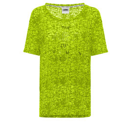 FREDDY S8BCWT179L03N00 T-SHIRT GIALLO FLUO