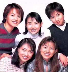 Alle Morning Musume Gruppen Bilder von damals bis heute als Poster