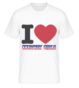 I love Country Girls T-Shirt