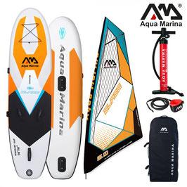 Aqua Marina Blade aufblasbares Windsurf SUP inkl. Segel, SUP, Aufblasbares SUP, Stand Up Paddling, SUP Surfer, Stand Up Paddleboard, Aquamarina SUP Paddle, Paddle, Paddling