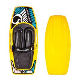 Spinera Kneeboard ONE, Kniebrett,Wassersport, Spaßbrett mit Leine
