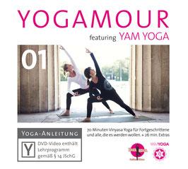 YOGAMOUR 01 DVD – YOGAMOUR feat. YAM Yoga