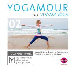 YOGAMOUR 02 DVD – Basic Vinyasa Yoga