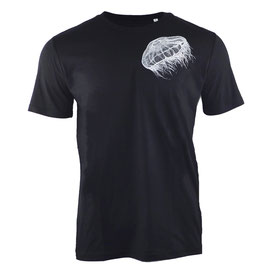 Men's MOON JELLYFISH heavy T-shirt SquidInkBlack/White