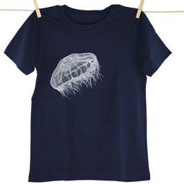 honourebel Kids MOON JELLYFISH T-shirt - DeepSeaNavy/White