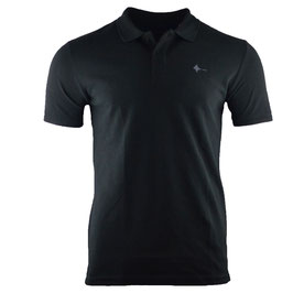 honourebel Men's BRAND RAY  heavy Polo Shirt - SquidInkBlack/Anthracite