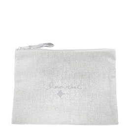 Recycled Multi-purpose Pouch honourebel RAY - SkimmingStoneGrey/White