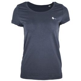 Women's honourebel BRAND RAY light T-shirt - SquidInkGrey/White