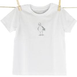 honourebel Kids SMALL HERRING GULL T-shirt - Whitewater/Anthracite